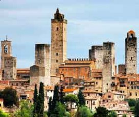 VIP Tour: Siena and San Gimignano with Dinner in the Chianti Countryside