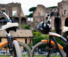 Rome Cruiser Bike Tour with Guide