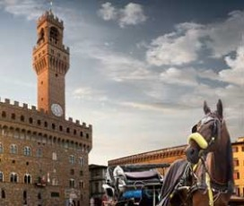 Giro in carrozza del centro di Firenze
