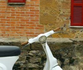 Тур на Веспе в Тоскане (Vespa Tour in Chianti)