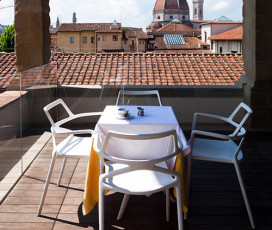 Innocenti Museum: Rooftop Terrace Breakfast and Video-Guided Tour