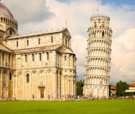 Day Tour: Lucca, Pisa, and Wine