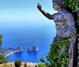 Augustus Gardens and Saint James Charterhouse Capri