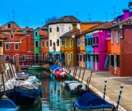 Half Day group tour Murano, Burano, and Torcello