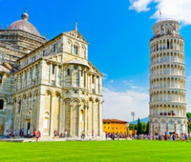 Monumental Complex of Pisa Cathedral Square Combo