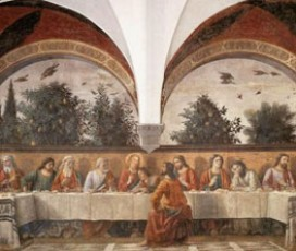 Florentine Last Suppers and Cloisters