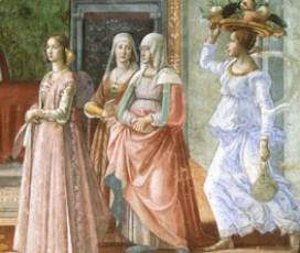 The princely splendor of the women of the Medici family