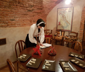 The Gorgonzola & the Marquise: excursion into history, cooking class, lunch