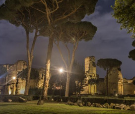 Caracalla Baths by Night with Underground Areas