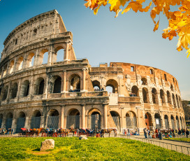 Imperial Rome: Colosseum and National Roman Museum